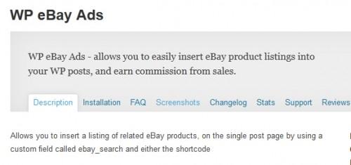 WP eBay Ads