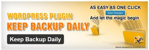 Keep Backup Daily