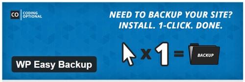 WP Easy Backup
