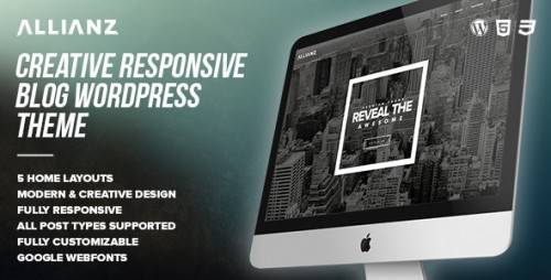 Allianz - Modern Responsive WordPress Blog Theme