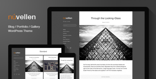 Nuvellen - Blog, Portfolio WordPress Theme