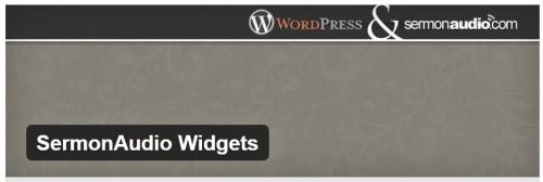 SermonAudio Widgets