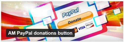 AM PayPal Donations Button