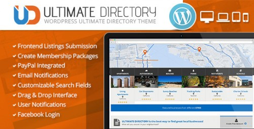 Ultimate Directory Responsive WordPress Theme