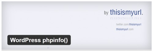 WordPress phpinfo()