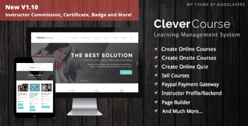 Clever Course - Learning Management System Theme