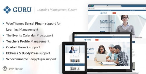 Guru - Learning Management WordPress Theme