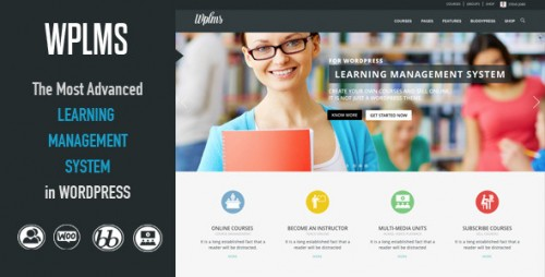 WPLMS Learning Management System WordPress Theme