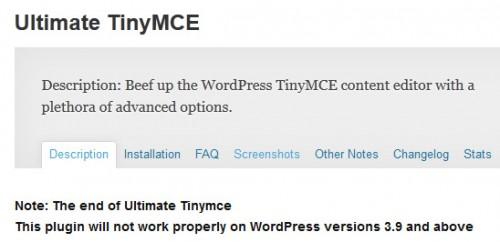 Ultimate TinyMCE