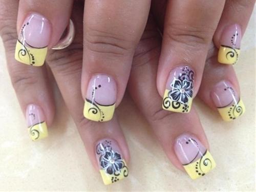 Happy nail design images nail art and nail design ideas happy new year black and yellow nail designs 2015 wpjournals christmas black and yellow nail designs prinsesfo Choice Image