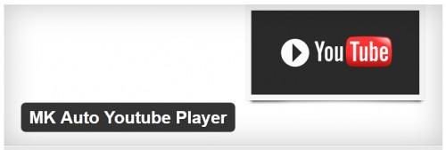 MK Auto Youtube Player