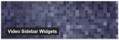 Video Sidebar Widgets