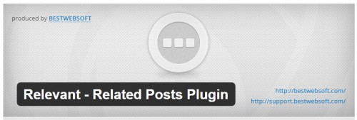 Relevant - Related Posts Plugin
