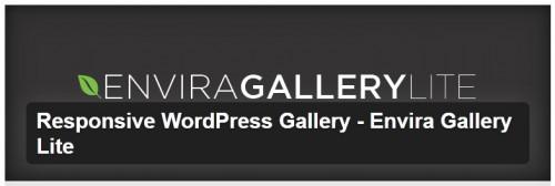 Responsive WordPress Gallery - Envira Gallery Lite