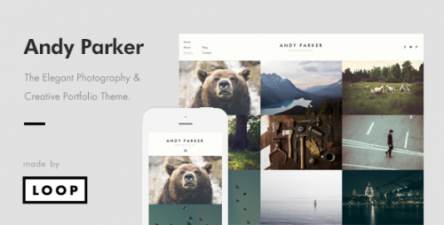 Andy Parker - Photography & Portfolio WordPress Theme