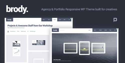 Brody - Agency & Portfolio WordPress Theme