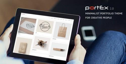 Portex - Photography Portfolio WordPress Theme