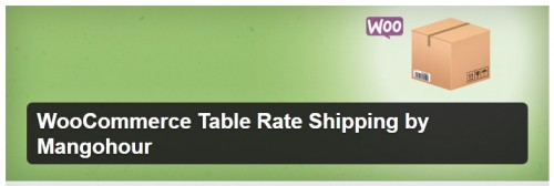 WooCommerce Table Rate Shipping by Mangohour