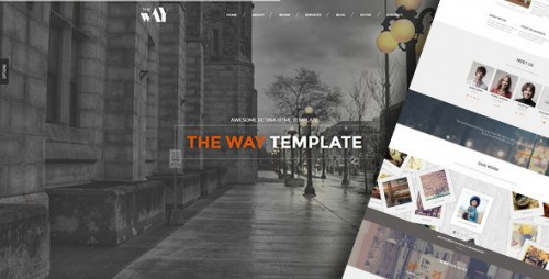 The Way - Creative OnePage & MultiPurpose WP Theme