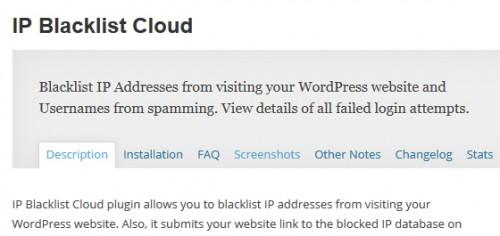 IP Blacklist Cloud