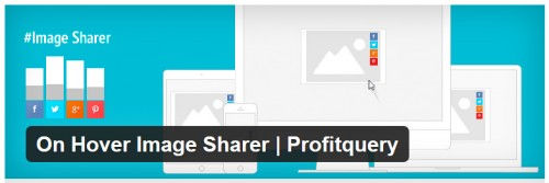 On Hover Image Sharer - Profitquery