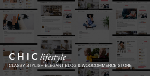 Chic Responsive Blog & WooCommerce WordPress Theme