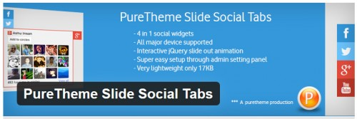 PureTheme Slide Social Tabs