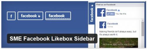 SME Facebook Likebox Sidebar