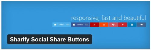 Sharify Social Share Buttons