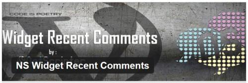 NS Widget Recent Comments