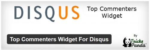 Top Commenters Widget For Disqus