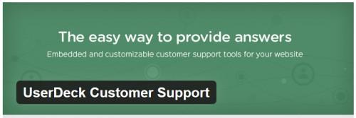 UserDeck Customer Support