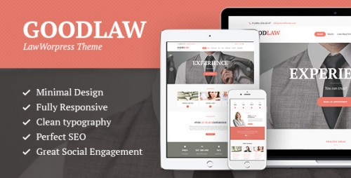 GoodLaw - Lawyers & Legal Adviser Theme