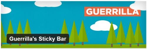 Guerrilla's Sticky Bar