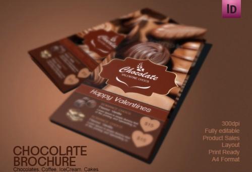 Chocolate Brochure Design