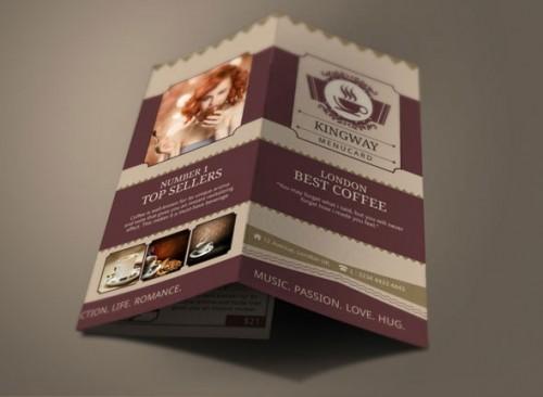 Coffee Shop Modern Design Brochure