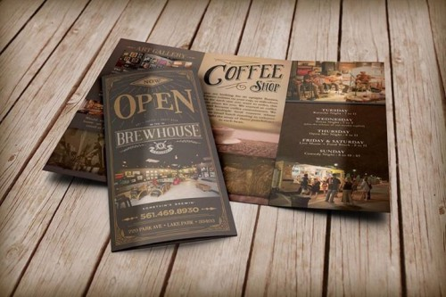 Cool Brewhouse Gallery Brochure Ideas