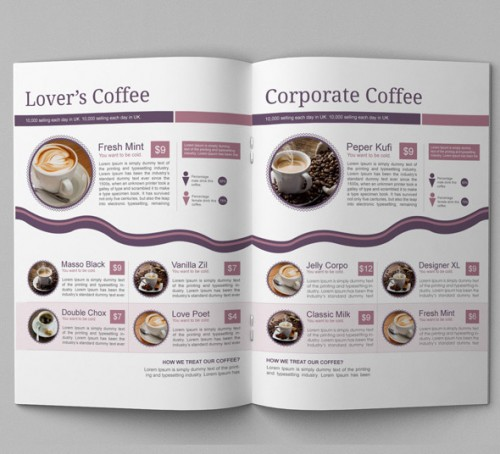 13 Best Coffee Shop Brochure Designs - Wpjournals