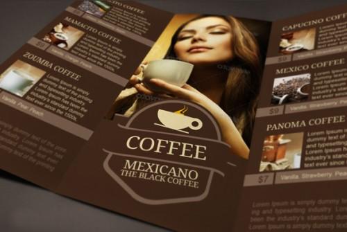 Mexicano Coffee Brochure Designs