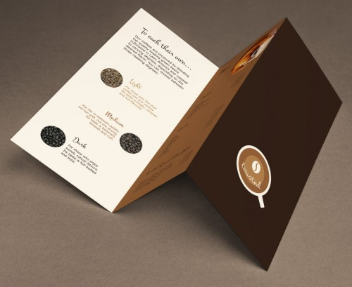 Toasted Coffee Shop Brochure Designs