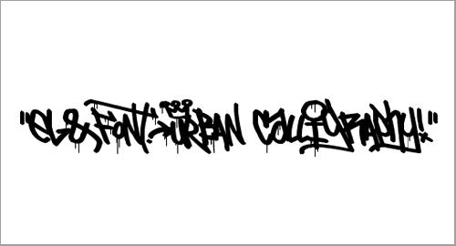 El&Font Urban CalIigraphy